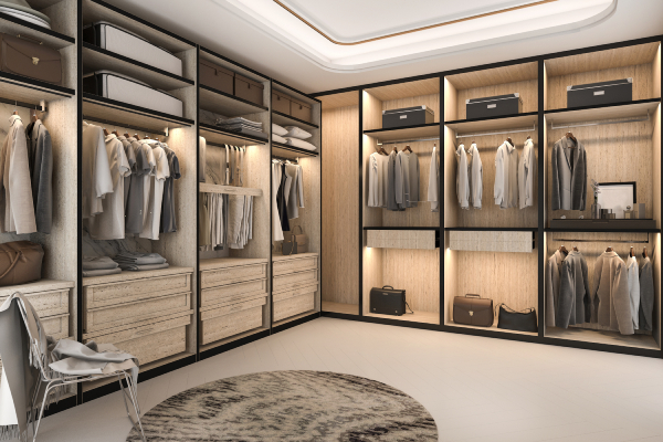 wardrobe ideas for bedroom