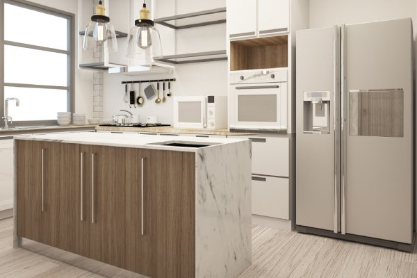 Modular Island Kitchen Design