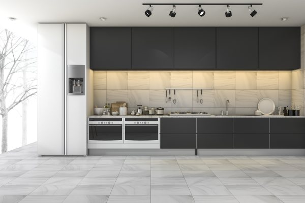 Staright Kitchen Design