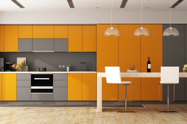Modular Staright Kitchen Design